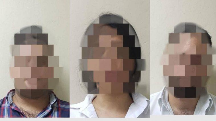 tres personas detenidas por llevar secuestrada a mujer en Honduras