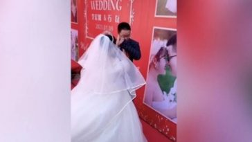 pareja se casa en china
