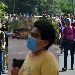 caravana de migrantes de hondureños