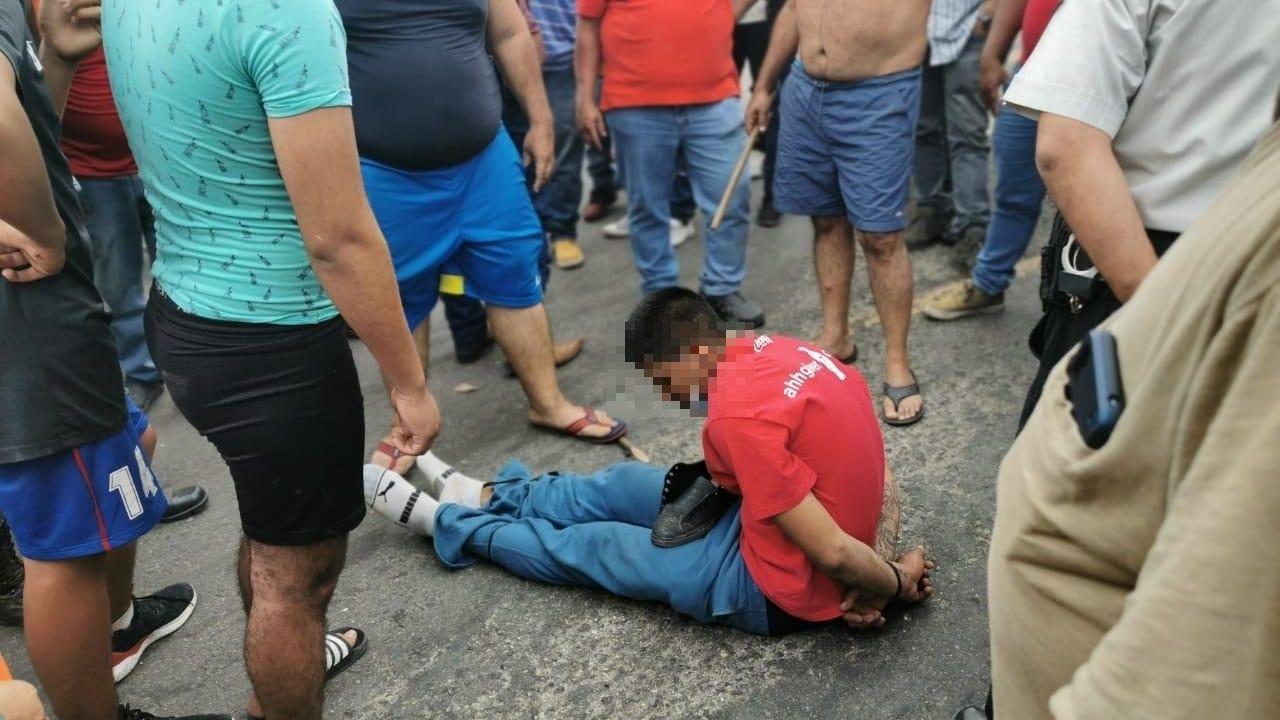 Hondureño integrante de la caravana fue detenido por supuestamente delinquir en su paso por Guatemala
