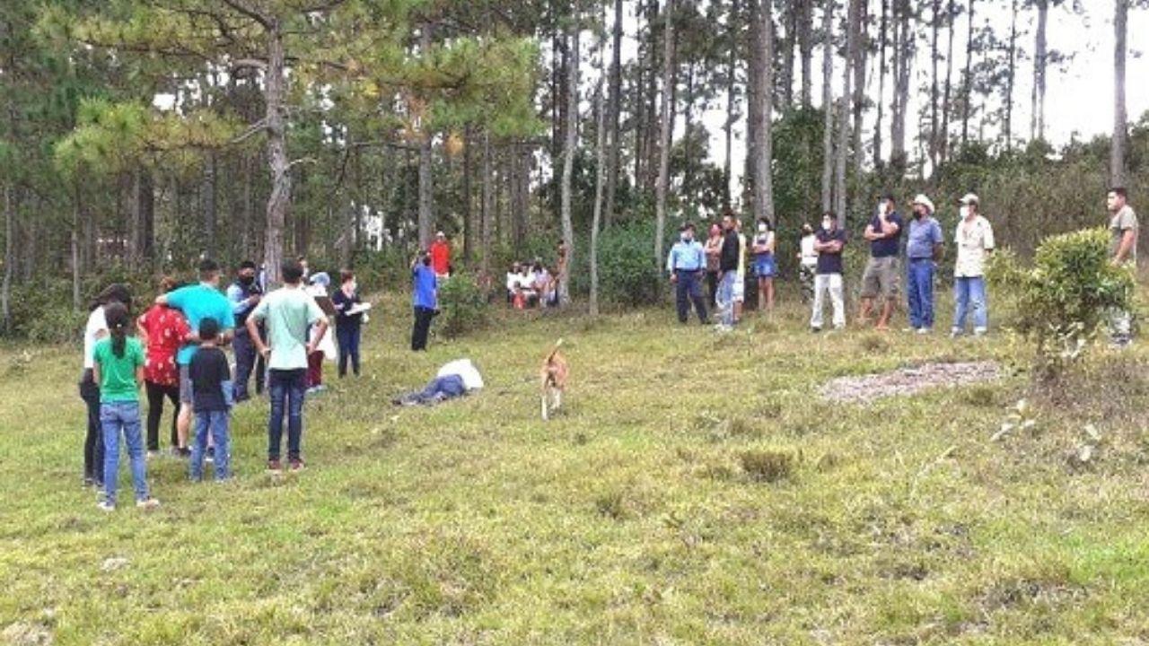 Salió a celebrar fin de año y lo hallaron muerto en el bosque de Calanterique en Siguatepeque