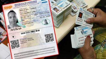 tarjeta identidad honduras