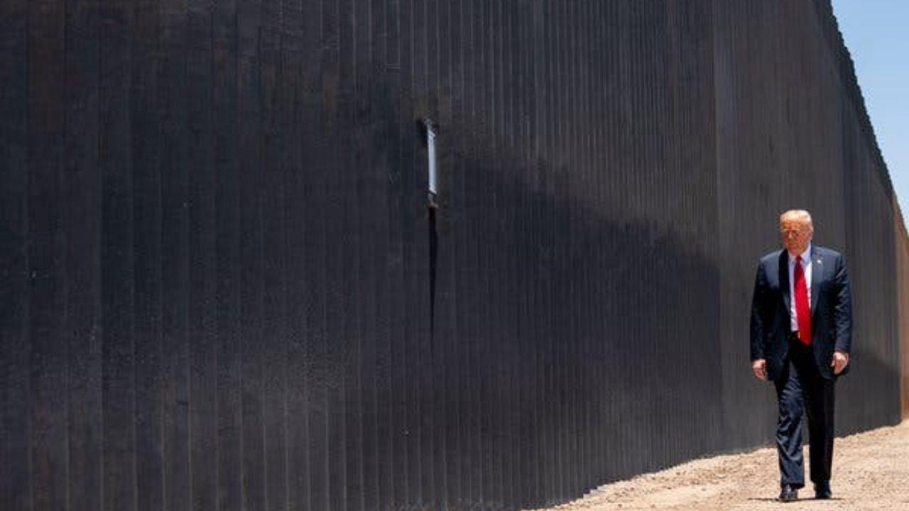 Trump viajará el martes 12 de enero a Texas para visitar la construcción del muro con México
