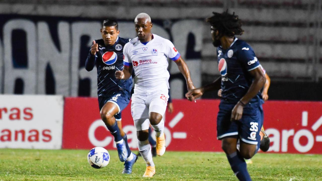 Olimpia y Motagua por la final de la liguilla del Apertura 2020