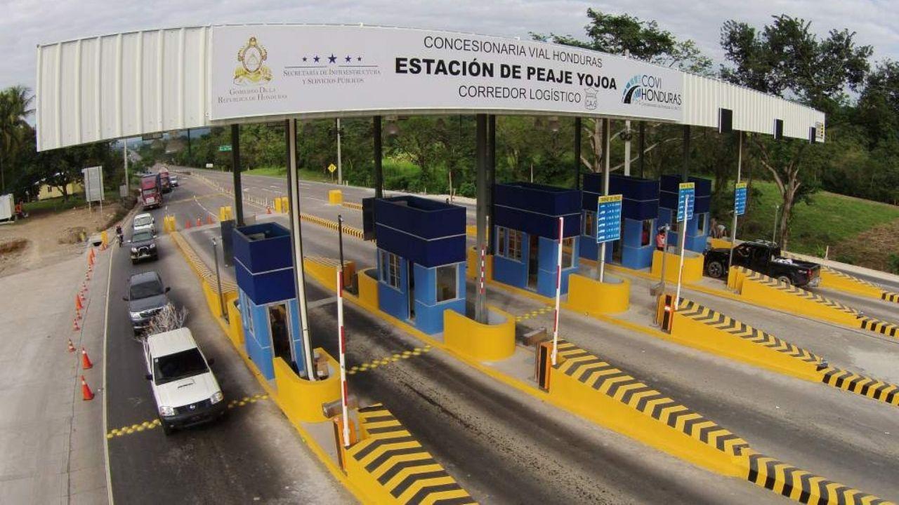 Covi recibe L600 millones en ganancias anuales por cobro de peaje
