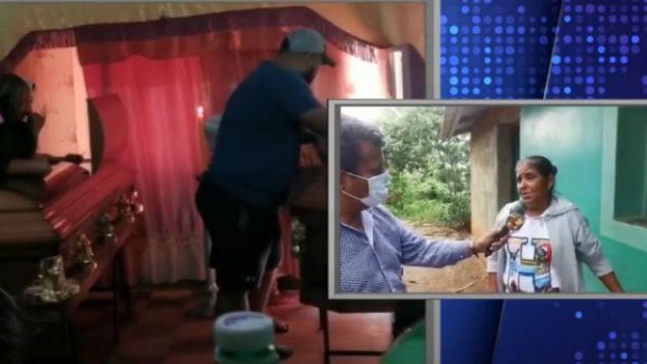 'Era excelente hijo. No tengo queja de él', dice madre de víctima de la primera masacre de 2021 en Honduras