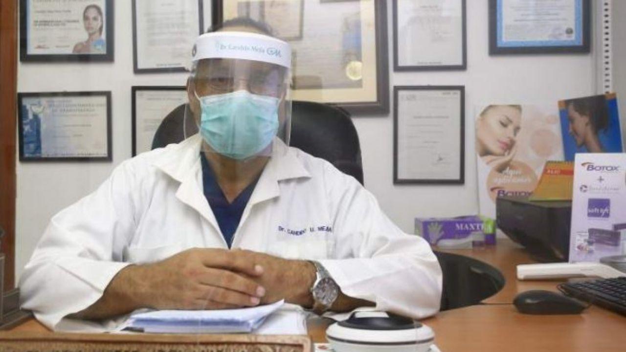 Las últimas palabras del médico hondureño Cándido Mejía antes de ser intubado por covid