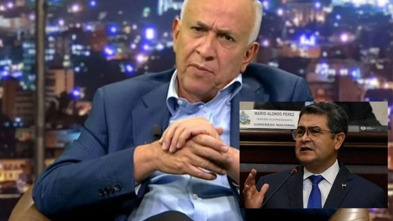 Mauricio Oliva pide al presidente Hernández aclarar su situación de supuesto narcotráfico ante el gobierno de Estados Unidos
