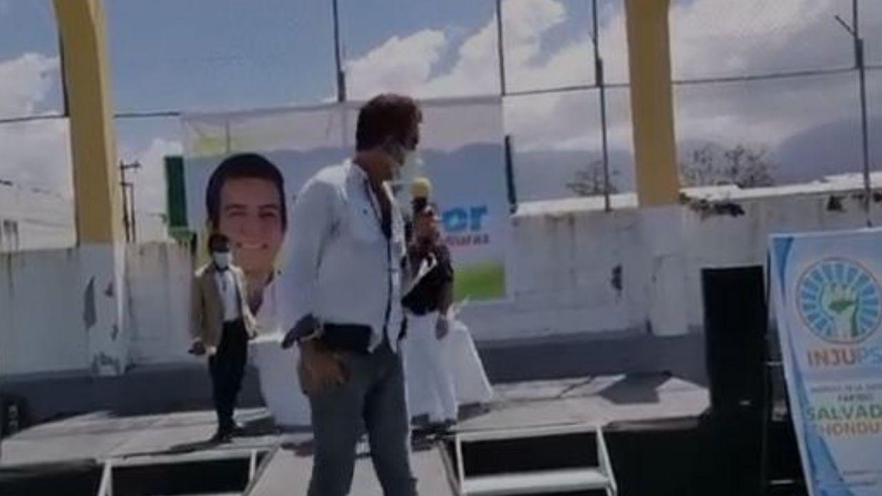 Diputado llamó 'malagradecido´ a Salvador Nasralla en plena actividad política, mira el video