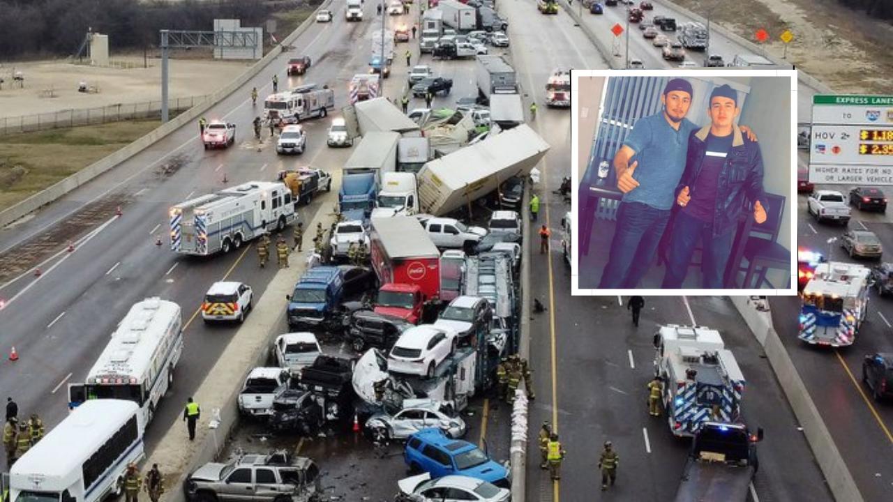 Desgarrador relato del padre de hondureños que habrían fallecido en el accidente suscitado en Texas, Estados Unidos