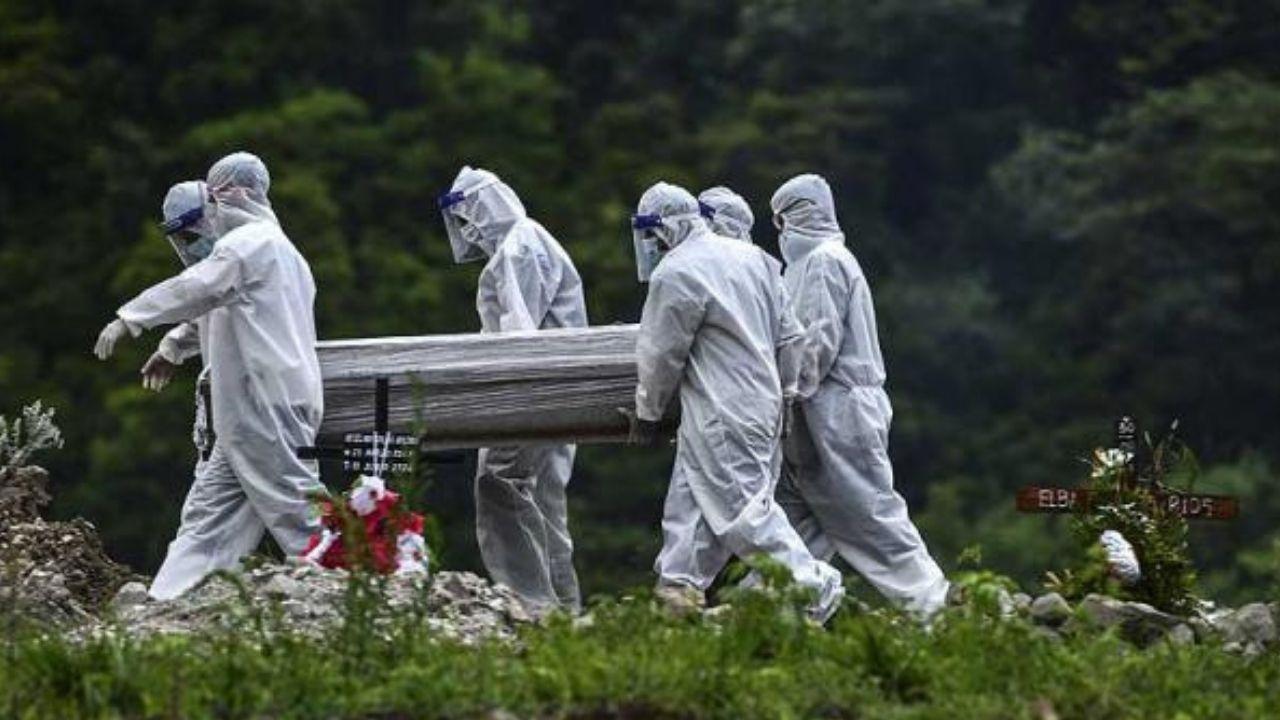 Funerarias hondureñas contabilizan en los primeros días de febrero 225 muertos por covid; 37 por día
