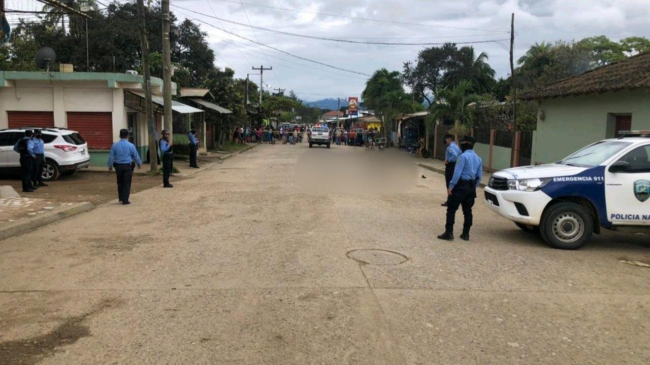 Asesinan a dos hombres en la aldea Pinalejo, en Quimistán, Santa Bárbara