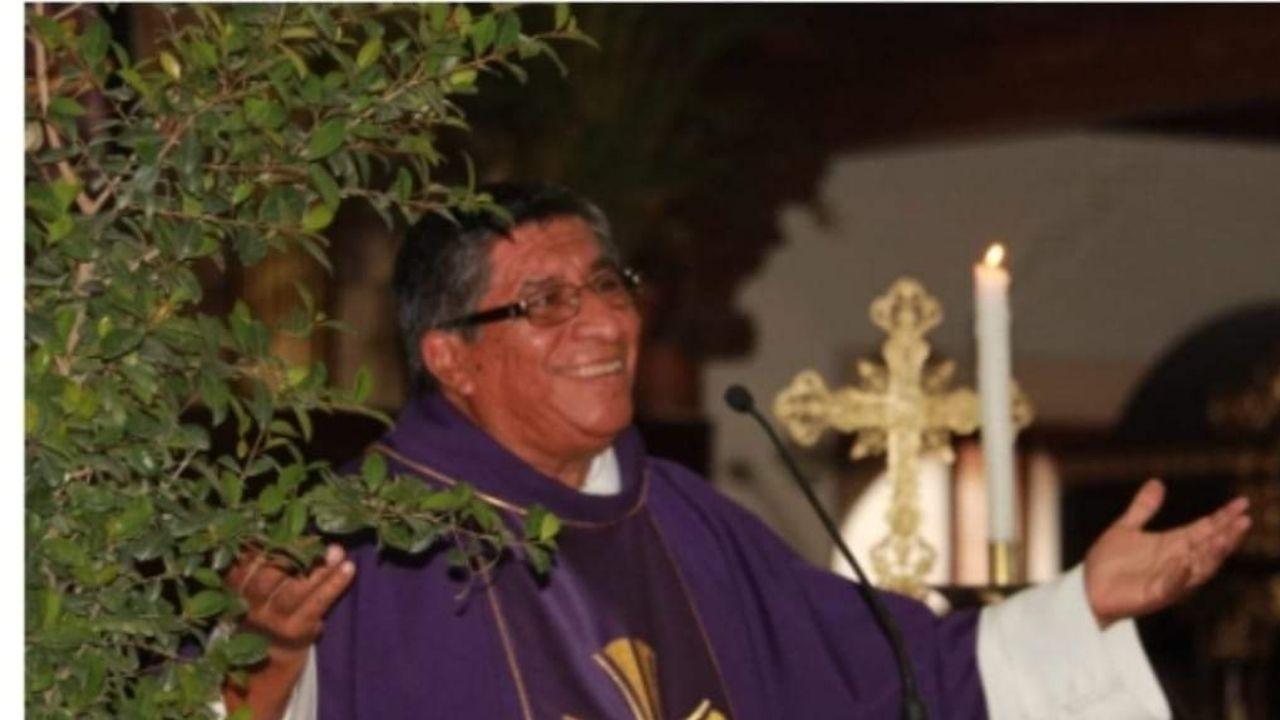 Por covid-19 muere el sacerdote Rudy Manuel Mejía en el occidente de Honduras