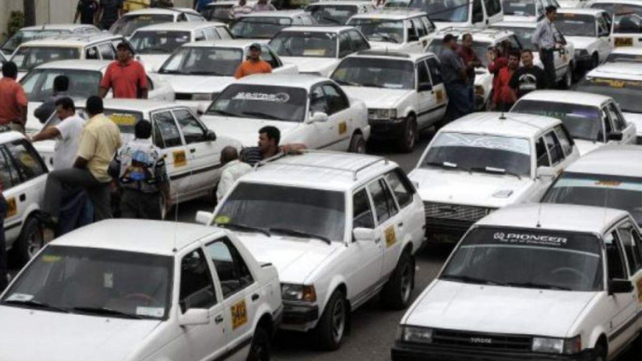 Taxistas exigen ser el segundo sector vacunado contra el covid en Honduras