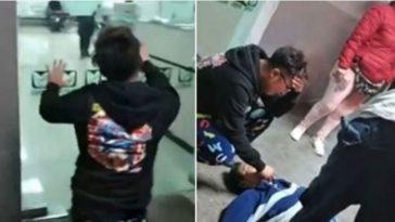 Hombre muere afuera de hospital