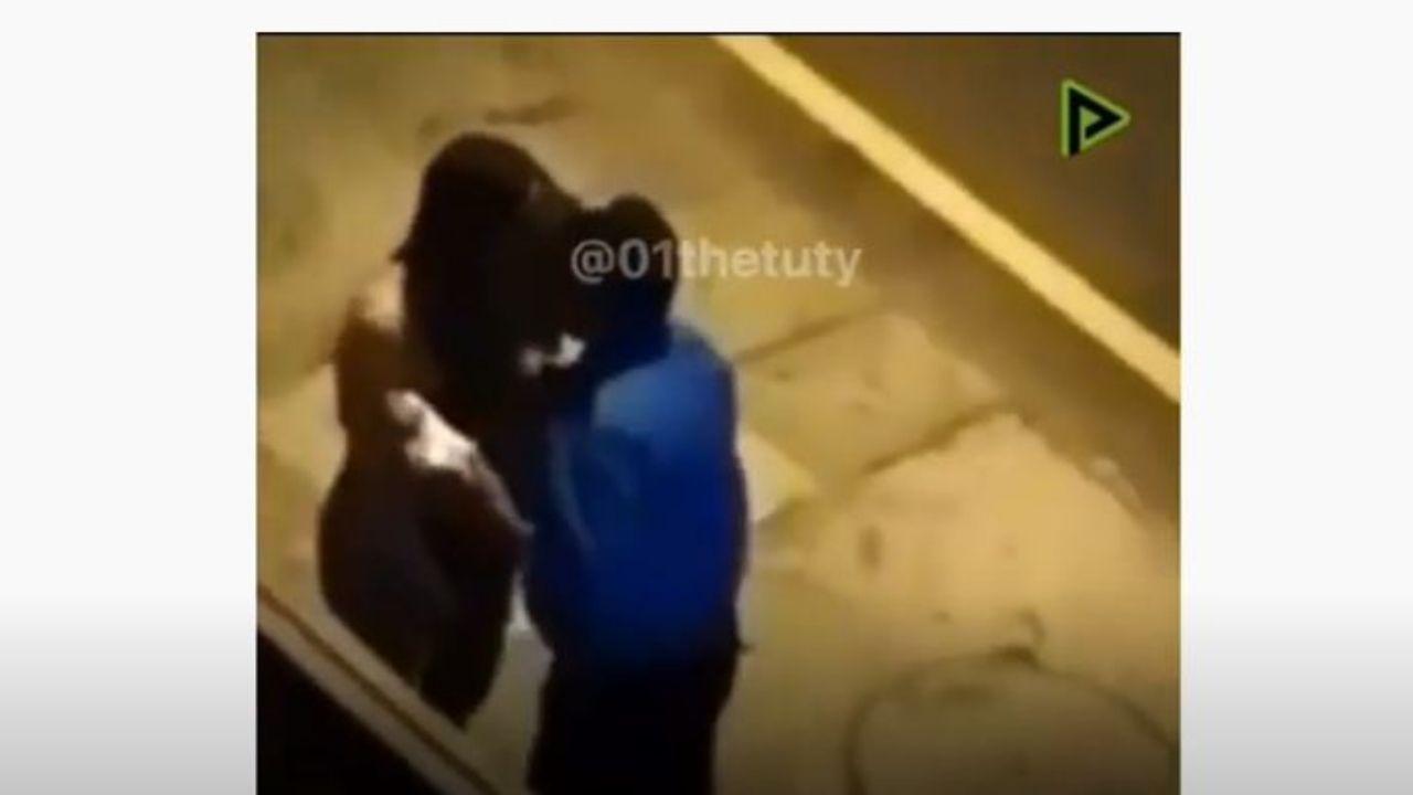Mujer besó a oficial para evitar multa por desobedecer toque de queda en Perú, te mostramos el video