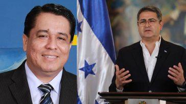 Roy Santos y juan orlando hernández
