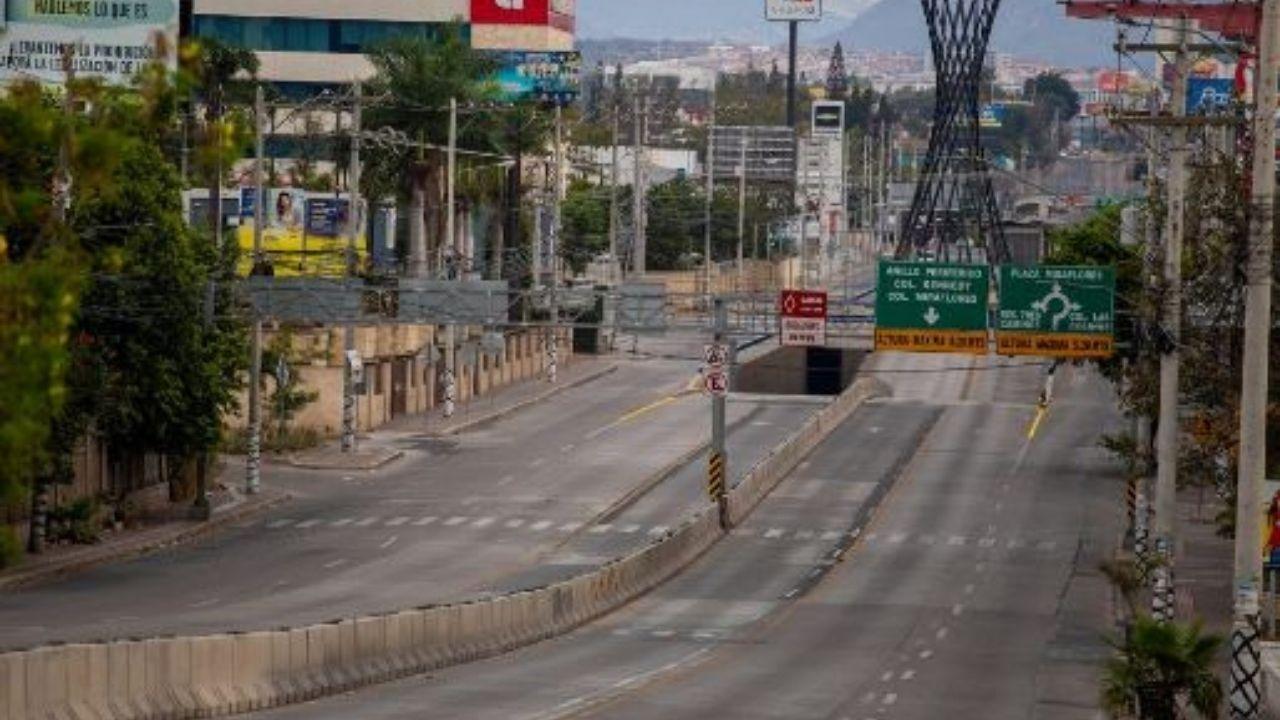 Cierran retorno del bulevar Centroamérica hacia el bulevar Suyapa de Tegucigalpa, mira hasta cuándo