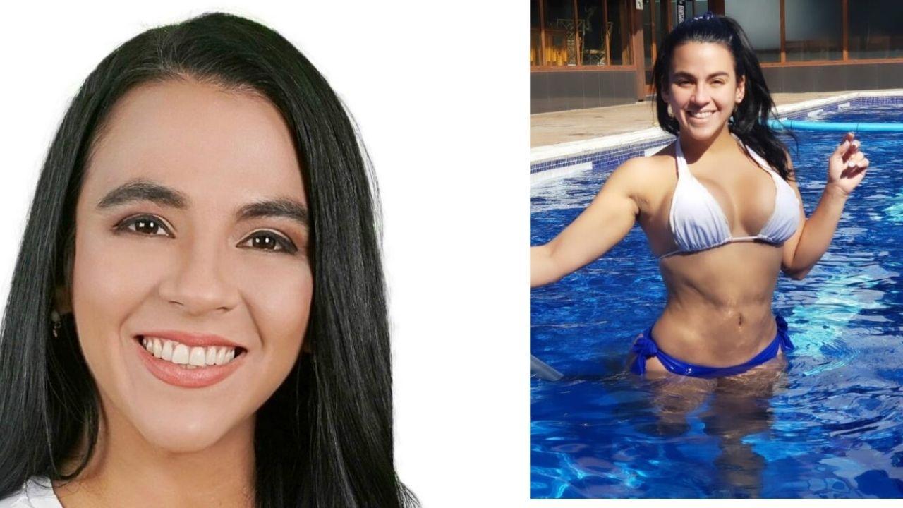 Precandidata hondureña a diputada muestra su escultural figura a través de atrevido traje de baño