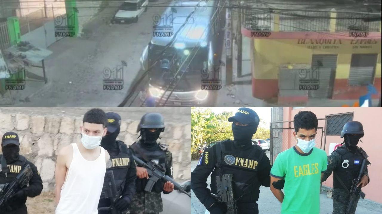 Caen presuntos sicarios que habrían atentado contra conductor de transporte en Comayagüela