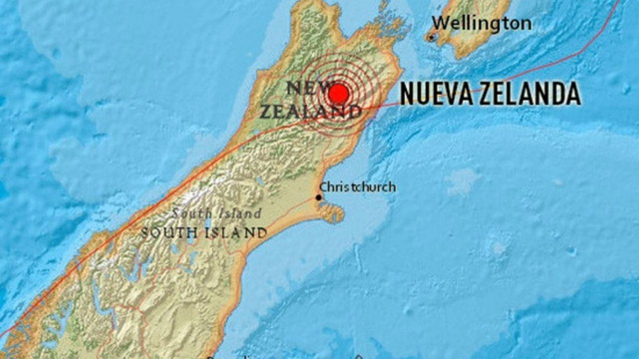 Sismos de magnitud 6,1 y 6,2 sacuden las islas Kermadec de Nueva Zelanda