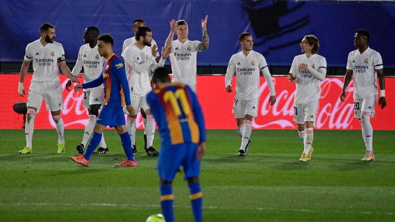 El Real Madrid gana el clásico y duerme líder en LaLiga