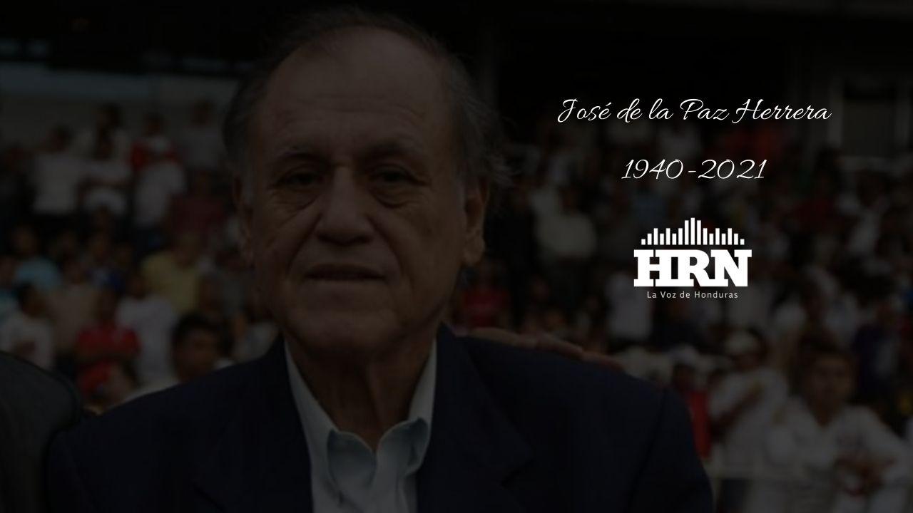 Fallece a los 80 años, José de la Paz Herrera