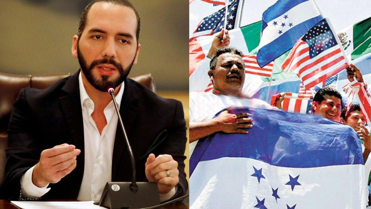 Bukele realiza petición a los hondureños en Estados Unidos, ¿de qué se trata?