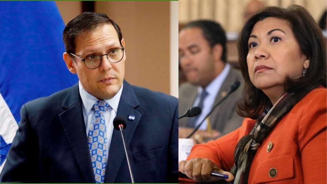 Lisandro Rosales le responde a congresista Norma Torres por señalamientos de corrupción en países del Triángulo Norte de Centroamérica