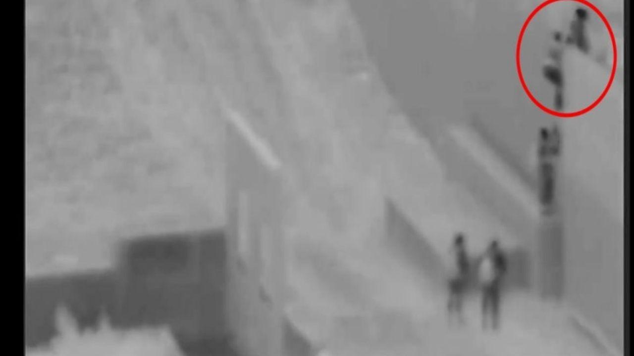 Captan a supuesto 'coyote' lanzando a niño de dos años desde muro fronterizo de 18 pies de altura