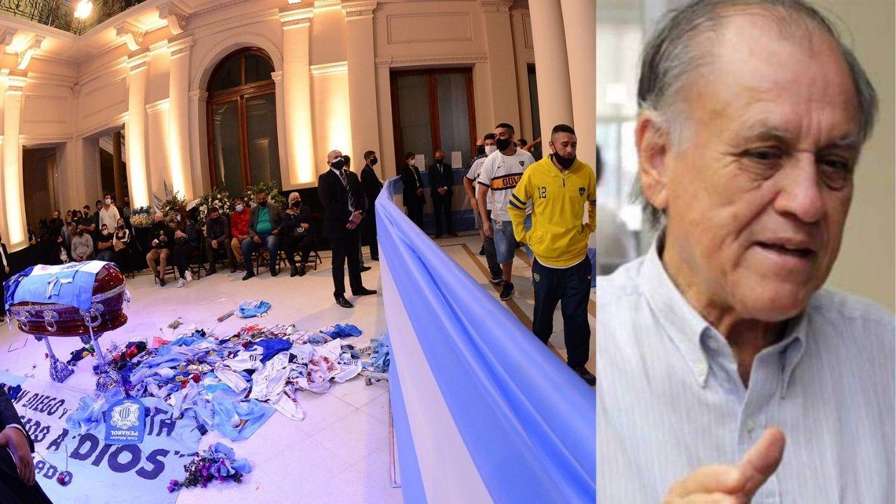 Honduras dará el último adiós a Chelato Uclés, 'al estilo Diego Maradona'