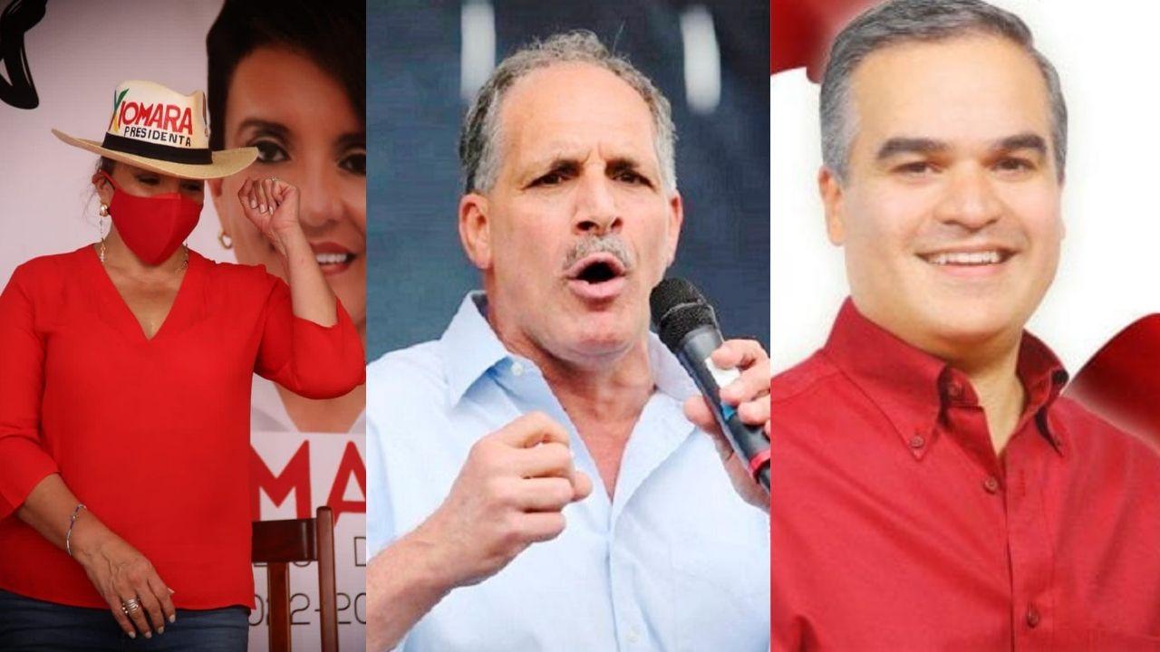 Xiomara, Tito Asfura y Yani son los candidatos presidenciales a participar en las elecciones generales de noviembre de 2021