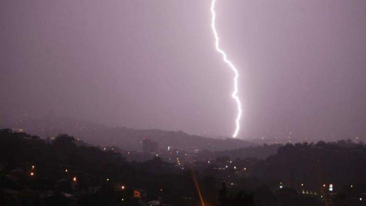 Lluvias con actividad eléctrica se registrarán el sábado en estas zonas de Honduras
