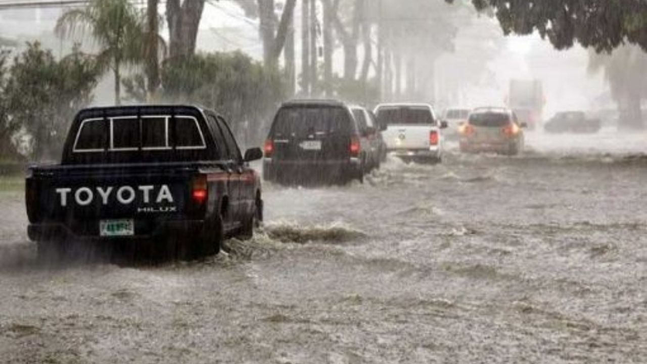 Por 72 horas se registrarán intensas lluvias en estas regiones de Honduras