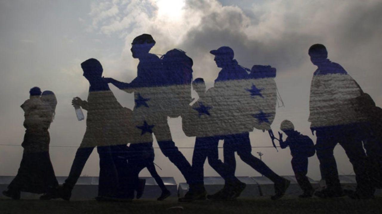 Muro de 20 mil hombres impedirá paso de 300 hondureños que emigran ilegalmente cada día