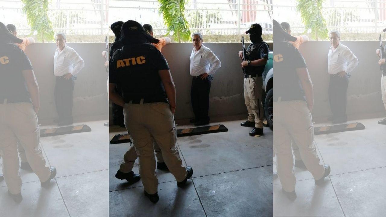 Capturan al alcalde de Tatumbla, Marco Tulio Casco, por el delito de cohecho