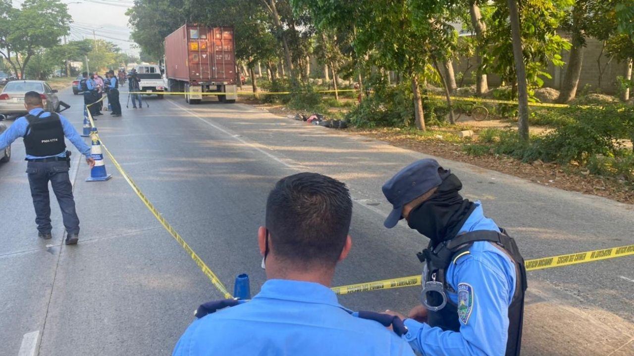 Dos supuestos cuerpos desmembrados y embolsados fueron encontrados en San Pedro Sula