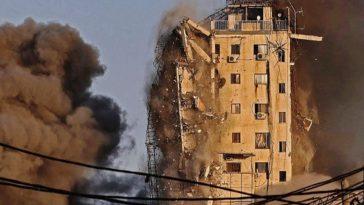 edificio en destruccion