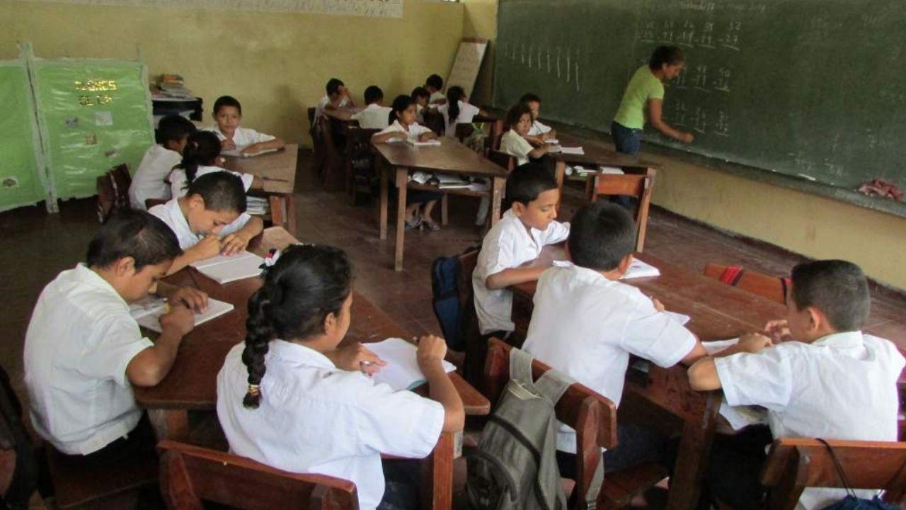 Setenta por ciento de niños y jóvenes están excluidos del sistema educativo hondureño