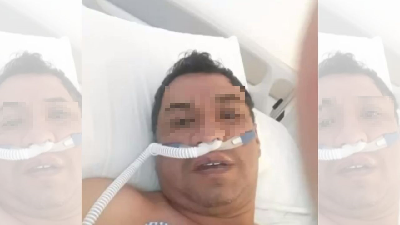 'Al quinto día deciden entubarme y ahí es cuando le pido a Dios que me salve', el conmovedor relato de un comerciante colombiano que pasó 27 días en la UCI