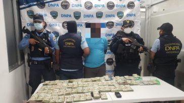 Hondureño detenido