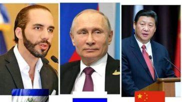 presidnetes de rusia y china