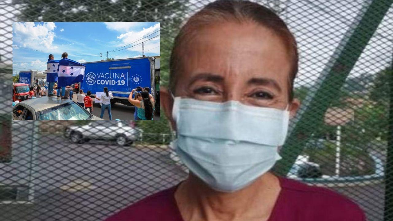 'Hay que ponerlas ya, si dieron pastillas de harina', dice doctora Sosa por vacunas donadas por El Salvador que vencen el 1 de junio