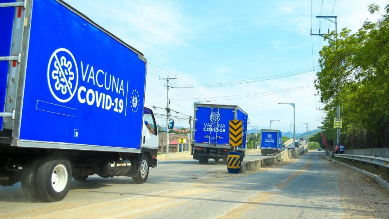Llegan a Honduras las dosis de vacuna contra el covid donadas por el gobierno de Nayib Bukele