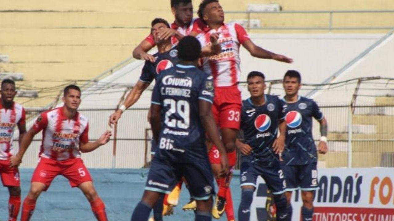 Motagua rescata un empate de 1-1 ante el Vida en La Ceiba y el semifinalista se definirá en la capital