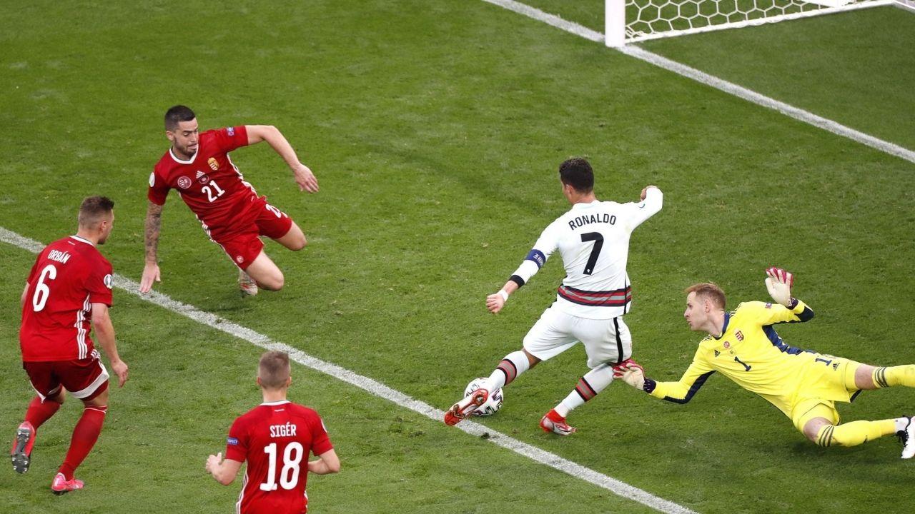 Cristiano Ronaldo agranda su leyenda en la casa de Puskas