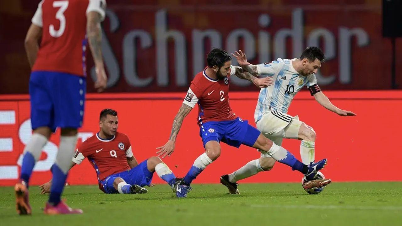 Argentina y Chile empatan 1-1 en su debut en la Copa América 2021