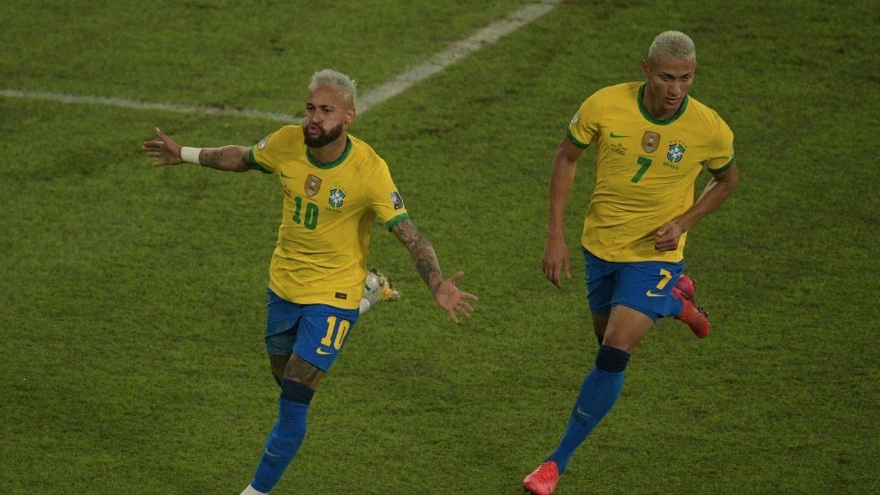 Brasil bailó al son de la samba en Rio de Janeiro y goleó 4-0 a Perú en la Copa América 2021