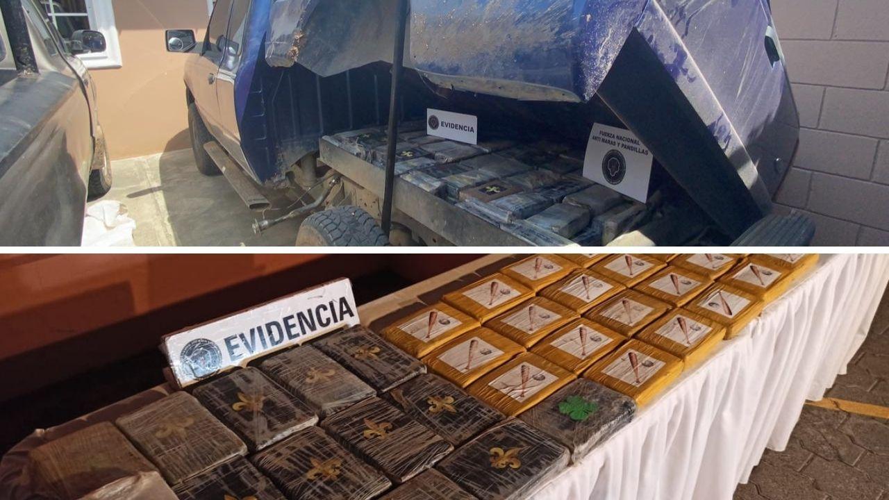 Incautan droga valorada en casi 100 millones de lempiras en Honduras