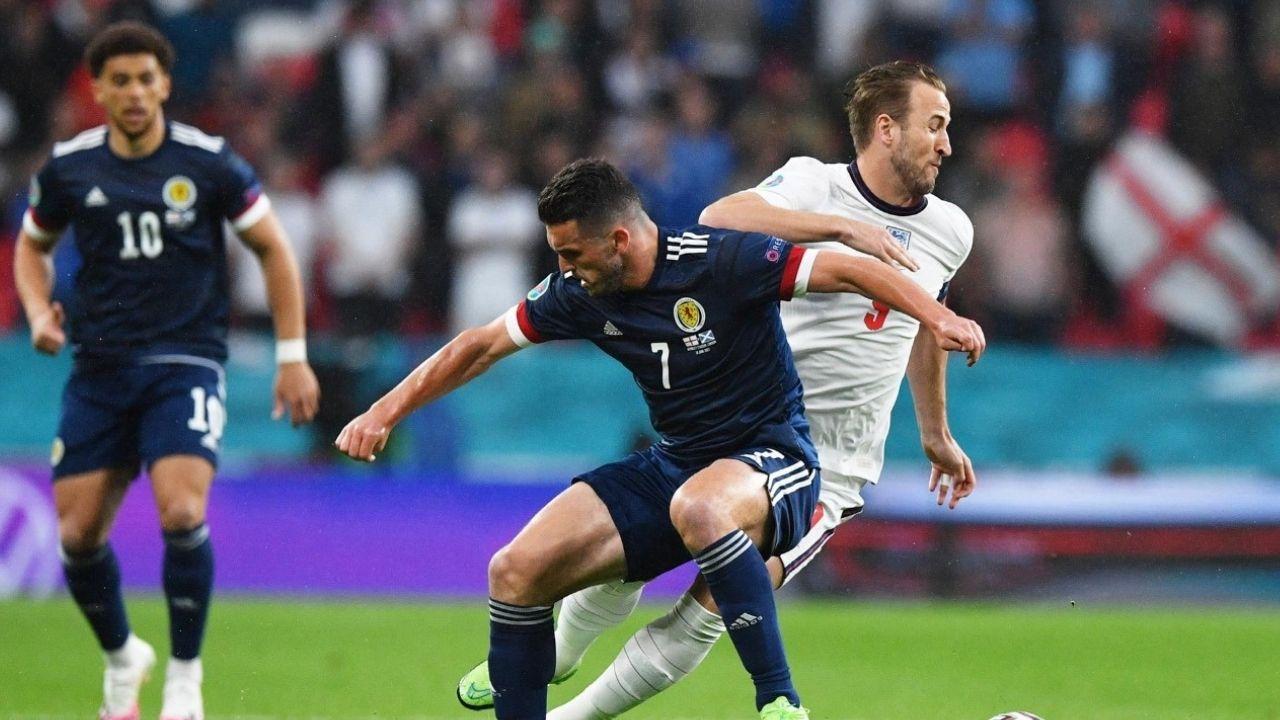 Inglaterra y Escocia empatan a orgullo en Wembley por la Eurocopa 2020